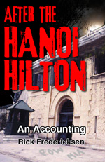 Hanoi Hilton ebook cover design by Caligraphics