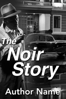 Pre-made noir ebook cover by Caligraphics