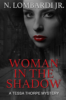 """Woman In The Shadow"" ebook cover by Caligraphics"