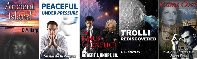 Custom indie ebook covers $59